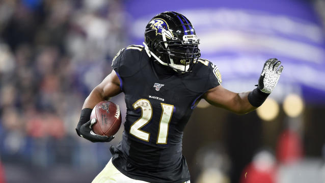 The Ravens will be happy to have Mark Ingram back on Saturday. (AP Photo/Gail Burton)