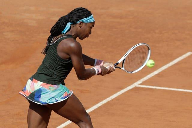 Coco Gauff has been in strong form on the clay