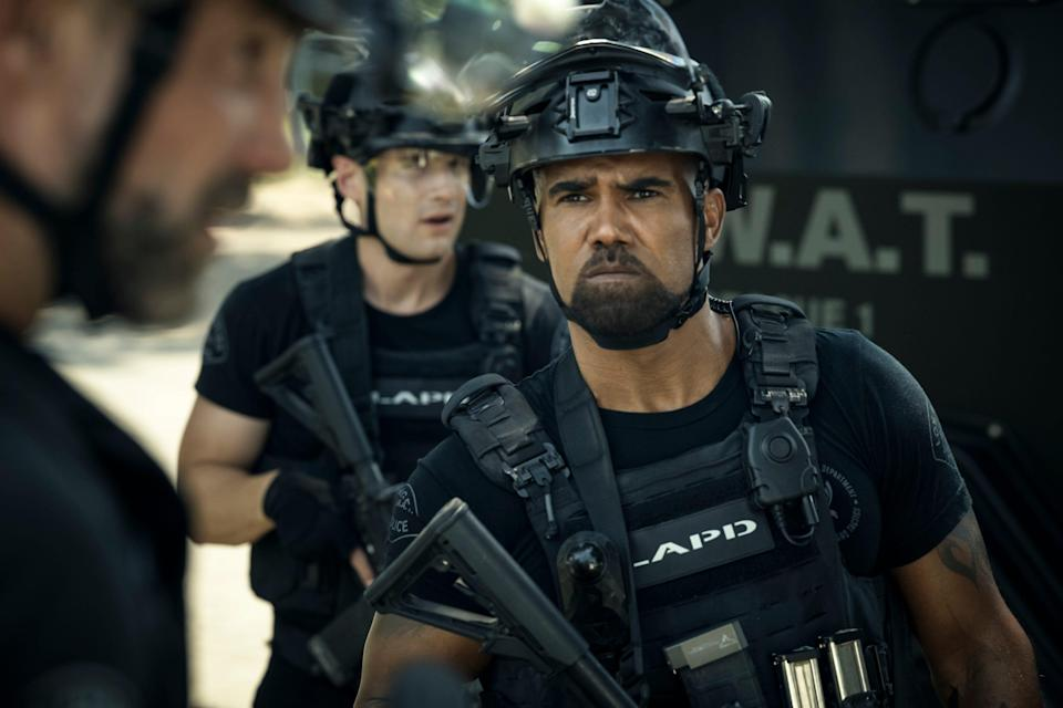 "Shemar Moore as Daniel ""Hondo"" Harrelson on ""S.W.A.T."" The CBS series has dealt with issues of race and policing before, but was motivated to do more after the protests against police brutality this summer."