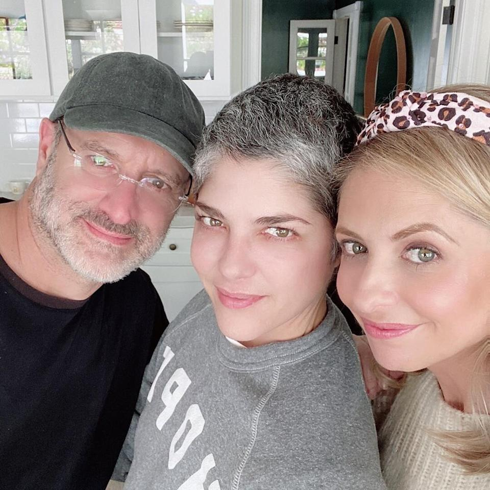 """20 years later and Sarah Michelle Geller and Selma Blair still have nothing but love for each other. The <a href=""""https://people.com/movies/sarah-michelle-gellar-and-selma-blair-have-cruel-intentions-reunion-with-director-roger-kumble/"""">former castmates got together with director and screenwriter Roger Kumble</a> at Blair's home and the star posted about it on <a href=""""https://www.instagram.com/p/B8xLuptH2LP/?utm_source=ig_embed"""">Instagram</a>, writing, """"I can't show how good it feels to have my friends come and bring lunch and news of the world. So I will just share the standard happy selfies. With love. Who knew this #cruelintentions trio would be forever?"""""""