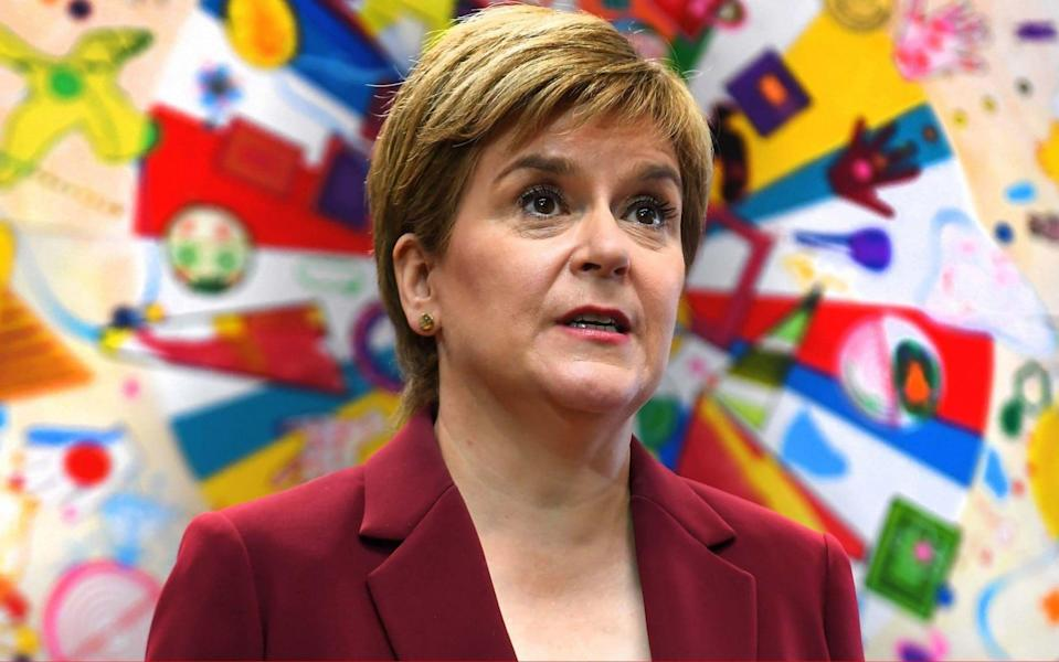 Nicola Sturgeon, the Scottish First Minister, admitted the situation was 'unacceptable' - Andy Buchanan/PA