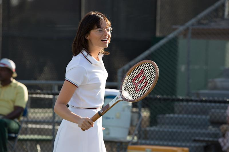 "The last person to score consecutive Best Actress trophies was Katharine Hepburn, way back in 1968 and '69. Emma Stone won earlier this year for ""La La Land,"" which dampens her odds for ""Battle of the Sexes,"" in which she gracefully portrays tennis champ Billie Jean King. The movie hasn't seen the runaway box-office success needed to galvanize it beyond its pleasant-at-best reviews. At the Toronto Film Festival, where the movie screened in September, a publicist told me Stone isn't itching to mount another grueling awards crusade. It's possible she'll wrest support on name alone, though, given her incredible charm."