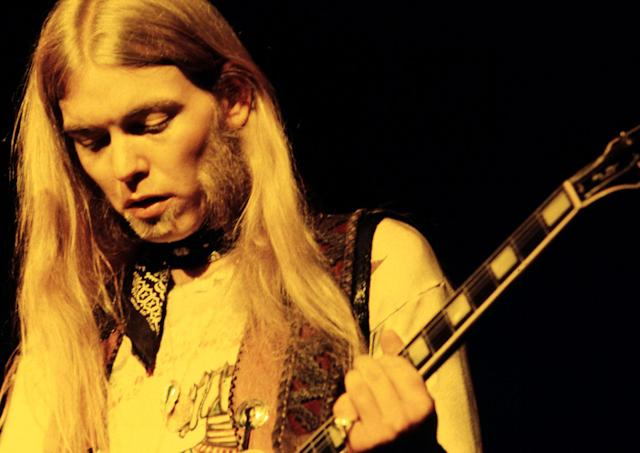 <p>Gregg Allman in the 1970s. (R.T. Kent/MediaPunch/IPX/AP) </p>