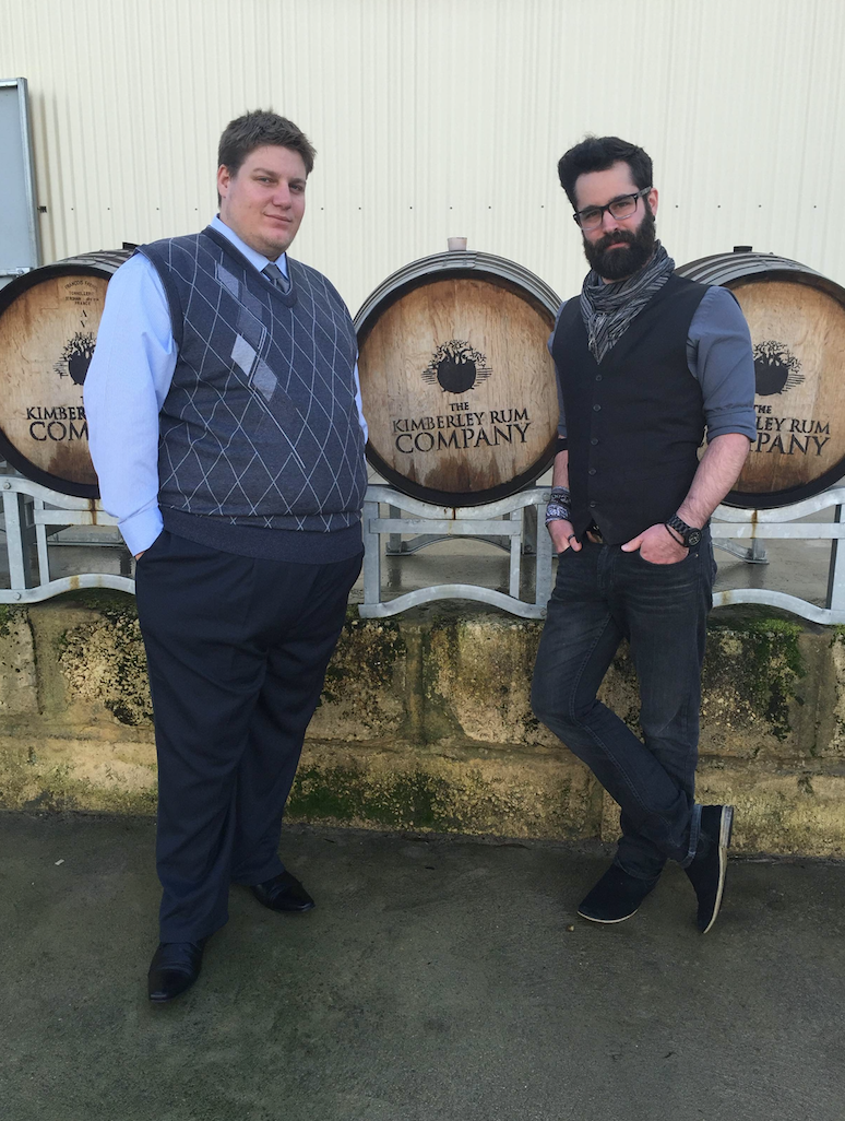Ryan and Blaire can be found at The Great Northern Distillery in WA. Photo: Natasha Christian