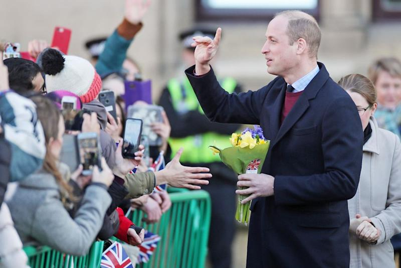 Prince William | Danny Lawson/PA Images via Getty