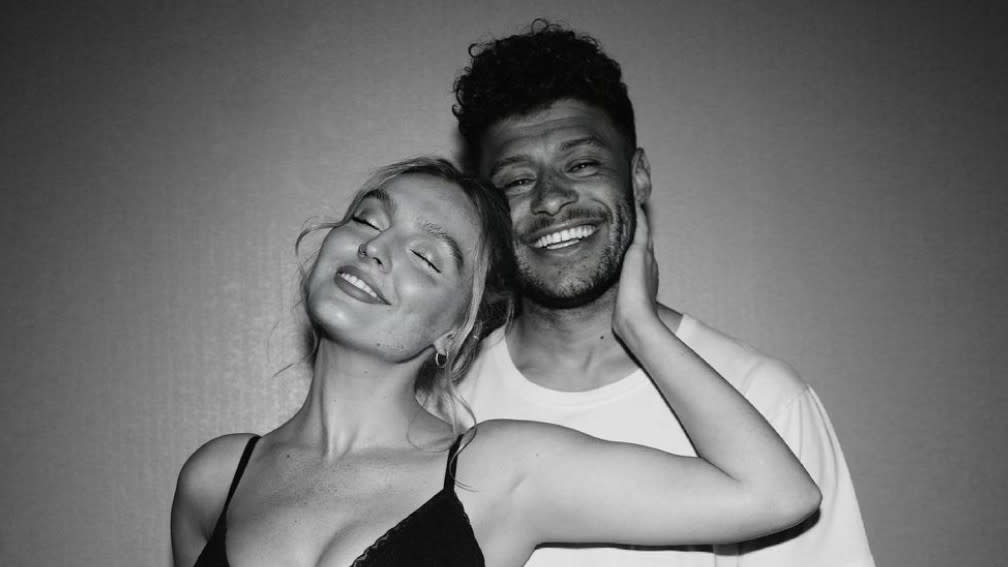 Perrie Edwards and Alex Oxlade-Chamberlain announced they were expecting a baby earlier this year. (Instagram/Perrie Edwards)