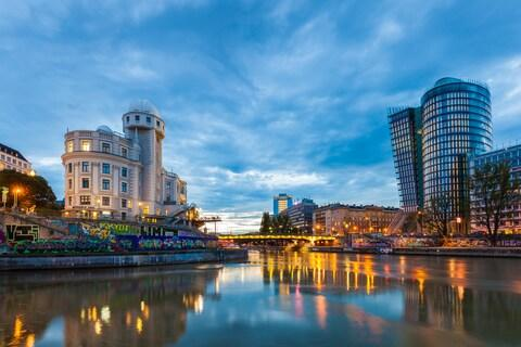 Vienna is another popular port of call - Credit: getty