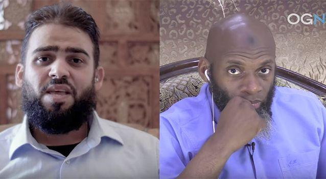 Mostafa Mahamed told journalist Bilal Abdul Kareem he was in a difficult situation. Source:YouTube/OGN TV
