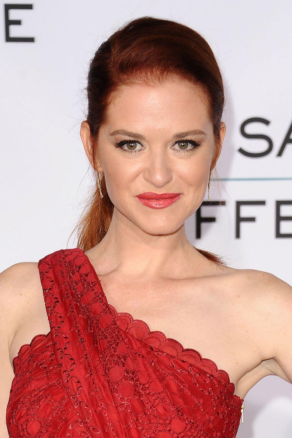 """<p>Sarah Drew could easily relate to her <em>Grey's Anatomy </em>character, April, the devout Christian who refrains from pre-marital sex. """"For April, the first thing that was revealed was she was a virgin,"""" explained Sarah in <a href=""""http://www.foxnews.com/entertainment/2014/03/04/sarah-drew-why-saved-myself-for-marriage.html"""" rel=""""nofollow noopener"""" target=""""_blank"""" data-ylk=""""slk:an interview"""" class=""""link rapid-noclick-resp"""">an interview</a>. """"I waited until I was married to have sex so I understood April's motivations. The writers thought it would be a really cool and interesting story to tell that isn't seen too often.""""</p>"""