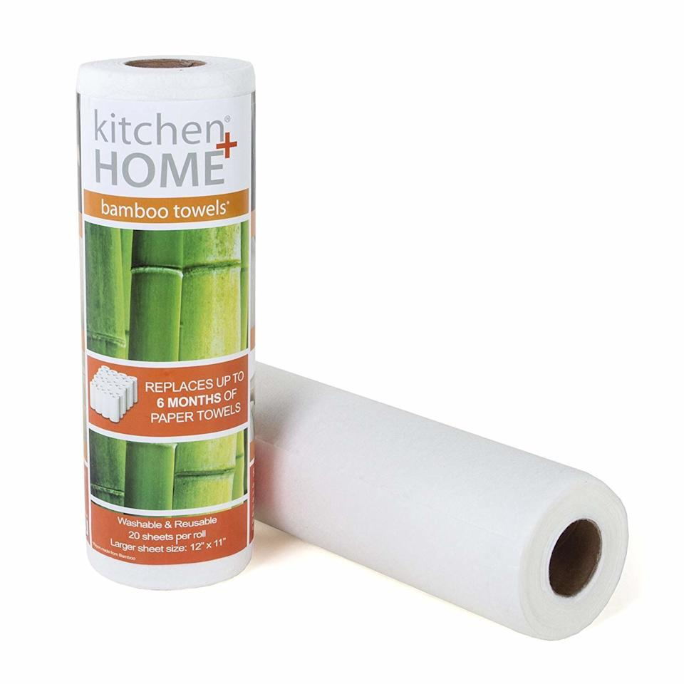Kitchen + Home Heavy Duty Bamboo Towels. (Photo: Amazon)