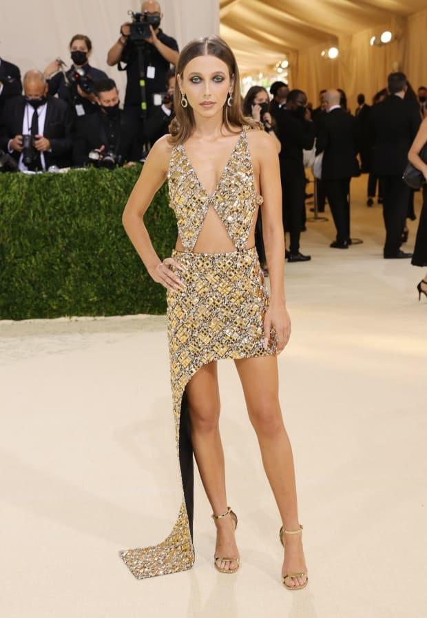 <p>Emma Chamberlain in Louis Vuitton at the 2021 Met Gala.</p><p>Photo: Mike Coppola/Getty Images</p>