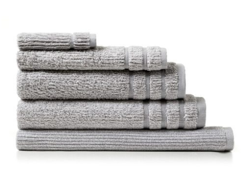 """<p>A set of stylish towels could be a great gift to deck out your man's bathroom. Source: <a rel=""""nofollow"""" href=""""https://www.adairs.com.au/bathroom/towels/home-republic/flinders-towels-grey-marle/"""">Adairs</a> </p>"""
