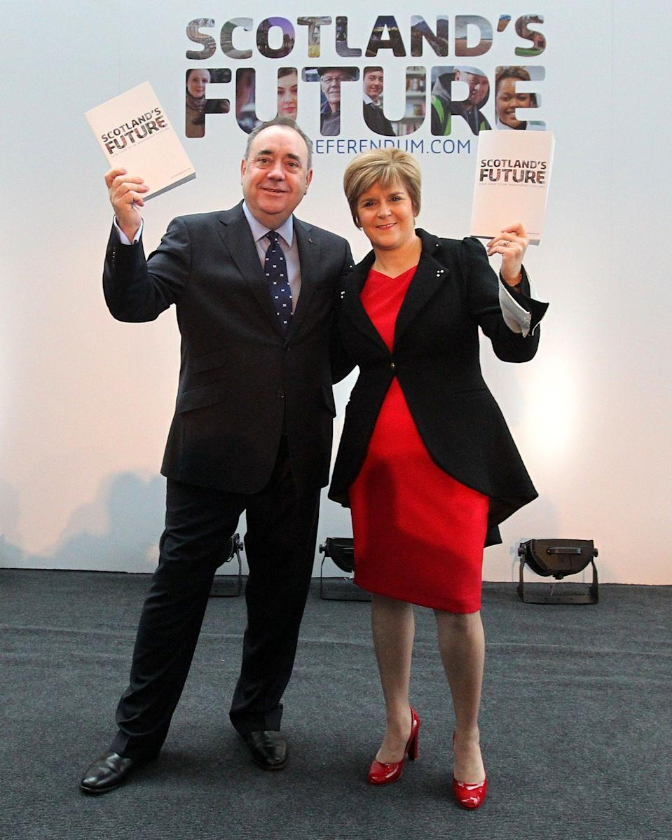 Mr Salmond and Ms Sturgeon were once close allies - Andrew Milligan/PA