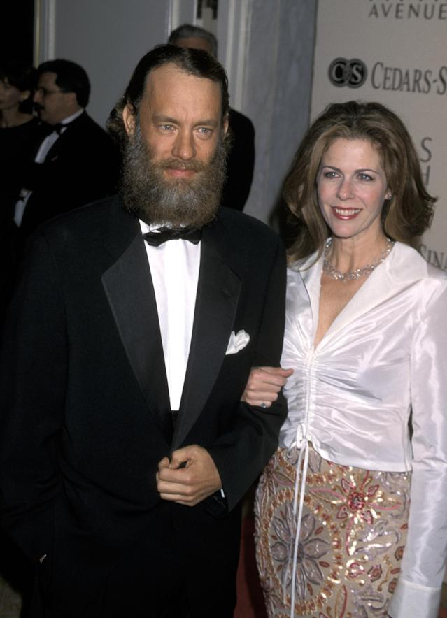 Tom Hanks and Rita Wilson (Photo by Jim Smeal/Ron Galella Collection via Getty Images)