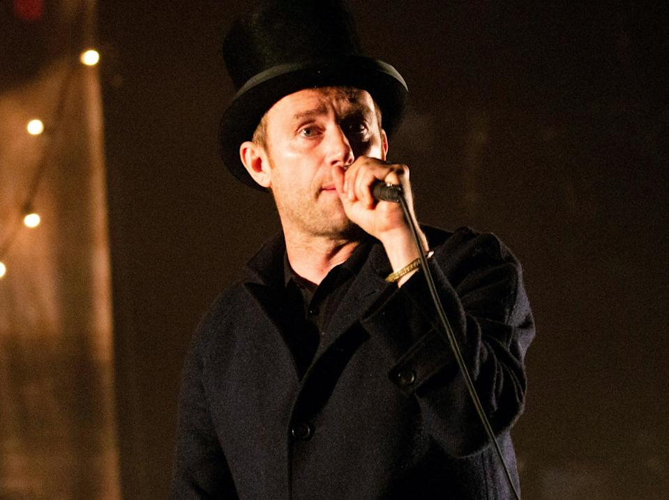 Damon Albarn has called out the government over its response to the Covid-19 pandemic (Rex Features)