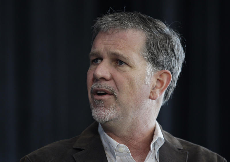 Netflix plans 50 pct pay hike for CEO Hastings