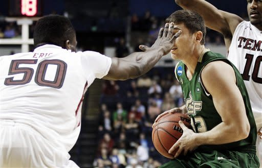 South Florida upsets Temple 58-44 after cold start