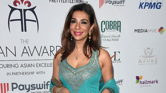 Shobna Gulati faced shame for raising her son out of wedlock (Image: Getty Images)