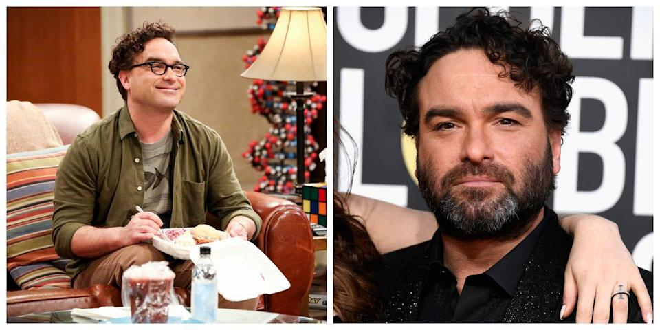 <p>In <em>Big Bang Theory</em>, Johnny Galecki is known as another science nerd, with thick glasses and zero facial hair. In reality, the actor who plays him, Leonard Hofstadter, is often rocking a beard, and looks especially unrecognizable without his own pair of specs. </p>