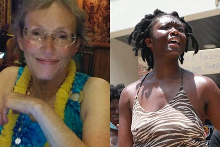 The bodies of Oluwatoyin Salau, 19, and Victoria Sims, 75, were found Saturday on Monday Road in Tallahassee.