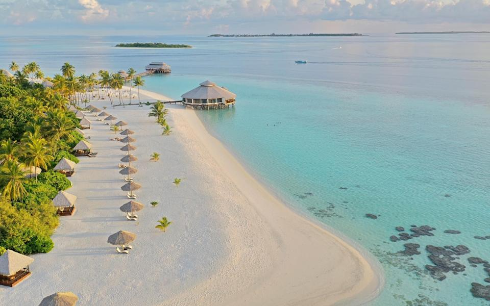 The Maldives is one of the most appealing options for a long-haul getaway in the sun - Getty