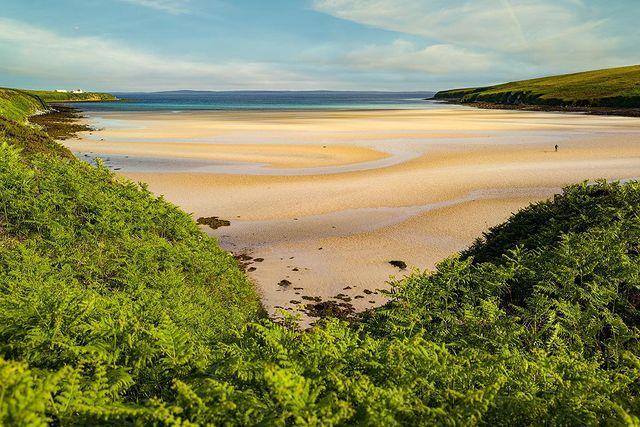 """<p>Tucked away, down a small side road before following steep steps to the shore, Waulkmill is one of the biggest beaches in the islands, with a beautiful stretch of sand taking up the bay at low tide, leading towards the clear waters of <a href=""""https://www.countrylivingholidays.com/tours/scotland-edinburgh-glasgow-golden-horizon-tradewind-cruise"""" rel=""""nofollow noopener"""" target=""""_blank"""" data-ylk=""""slk:Scapa Flow"""" class=""""link rapid-noclick-resp"""">Scapa Flow</a>, which are shallow enough to make them ideal for paddling. </p><p><strong>Where to stay: </strong><a href=""""https://go.redirectingat.com?id=127X1599956&url=https%3A%2F%2Fwww.booking.com%2Fhotel%2Fgb%2Flindisfarne-bed-amp-breakfast.en-gb.html%3Faid%3D2070936%26label%3Dprima-scotland-beaches&sref=https%3A%2F%2Fwww.prima.co.uk%2Ftravel%2Fg36694479%2Fbest-beaches-scotland-where-to-stay%2F"""" rel=""""nofollow noopener"""" target=""""_blank"""" data-ylk=""""slk:Lindisfarne B&B"""" class=""""link rapid-noclick-resp"""">Lindisfarne B&B</a> in Stromness offers views over Scapa Flow. The town of Stromness is only one mile away, while the beach is just a short drive. </p><p><a class=""""link rapid-noclick-resp"""" href=""""https://go.redirectingat.com?id=127X1599956&url=https%3A%2F%2Fwww.booking.com%2Fhotel%2Fgb%2Flindisfarne-bed-amp-breakfast.en-gb.html%3Faid%3D2070936%26label%3Dprima-scotland-beaches&sref=https%3A%2F%2Fwww.prima.co.uk%2Ftravel%2Fg36694479%2Fbest-beaches-scotland-where-to-stay%2F"""" rel=""""nofollow noopener"""" target=""""_blank"""" data-ylk=""""slk:CHECK AVAILABILITY"""">CHECK AVAILABILITY</a></p><p>Alternatively, visit Scapa Flow during Country Living's luxury sailing around Scotland's Highlands and islands.</p><p><a class=""""link rapid-noclick-resp"""" href=""""https://go.redirectingat.com?id=127X1599956&url=https%3A%2F%2Fwww.booking.com%2Fhotel%2Fgb%2Flindisfarne-bed-amp-breakfast.en-gb.html%3Faid%3D2070935%26label%3Dscotland-beaches&sref=https%3A%2F%2Fwww.prima.co.uk%2Ftravel%2Fg36694479%2Fbest-beaches-scotland-where-to-stay%2F"""" rel=""""nofollow noopener"""" target="""""""