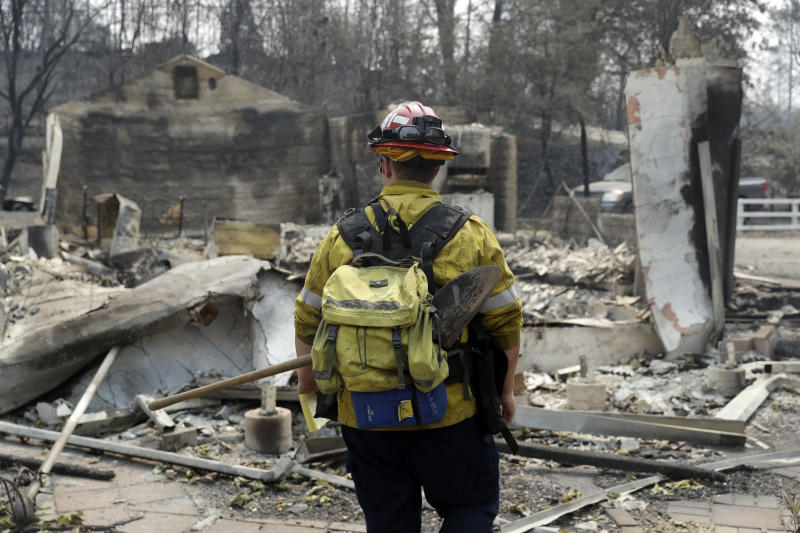The Northern California Wildfire Is Slowing Down After Claiming a Sixth Fatality
