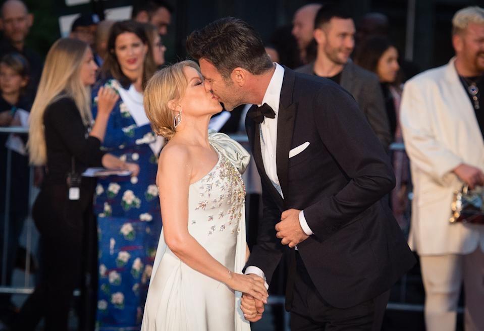 Kylie Minogue and Paul Solomons engaged mother in law confirms