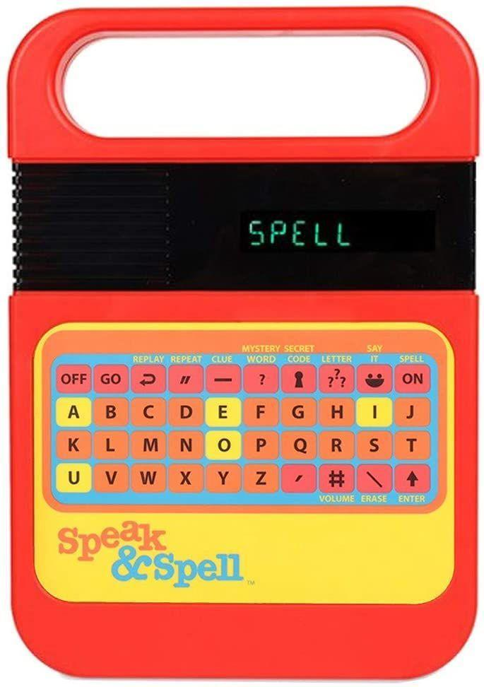 <p>The Speak & Spell came out in the 1970s, and was a great tool for kids learning how to spell. It would say words out loud and kids had to figure out how to spell them. But these ceased to exist in the '90s, and now, of course, kids don't need something like this to learn how to spell, thanks to the internet and apps. <br></p>