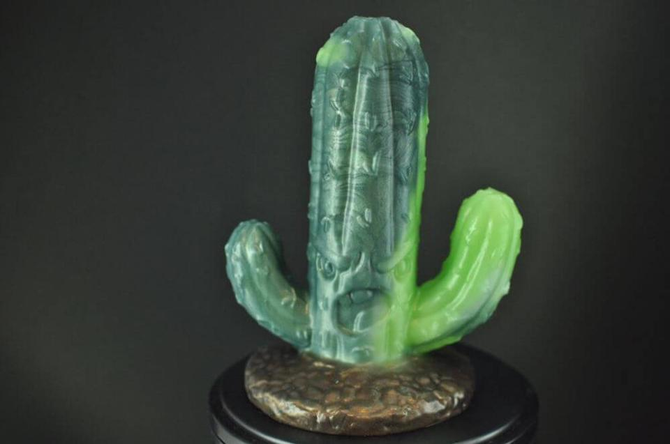 """On the list of Last Objects We'd Use as a Dildo, the cactus is probably in the top five, so take a walk on the wild side and have fun with this cactus-sans-spines toy. $58, Etsy. <a href=""""https://www.etsy.com/listing/832671837/body-safe-silicone-cactus-toy"""" rel=""""nofollow noopener"""" target=""""_blank"""" data-ylk=""""slk:Get it now!"""" class=""""link rapid-noclick-resp"""">Get it now!</a>"""