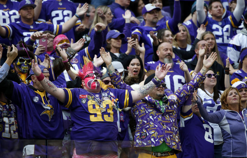 The Vikings haven't been to the Super Bowl since 1977. That could change with two wins this month. (AP)