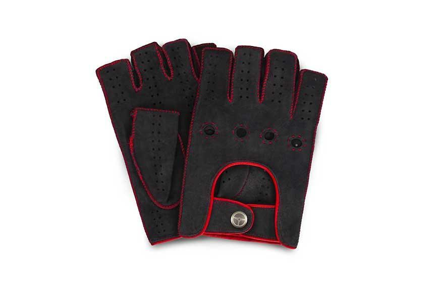 outlierman powerslide fingerless glove red