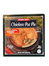 <p>This was way better than expected for a frozen pot pie. The crust was soft and flaky, and there was a good amount of veggies and chicken inside. It's not the healthiest of options, but it does taste good.</p>