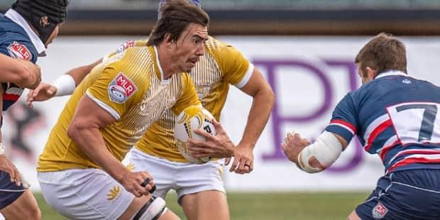Kyle Baillie was made captain of the Nola Gold this year. (Craig Boudreaux / NOLA Gold Rugby - image credit)