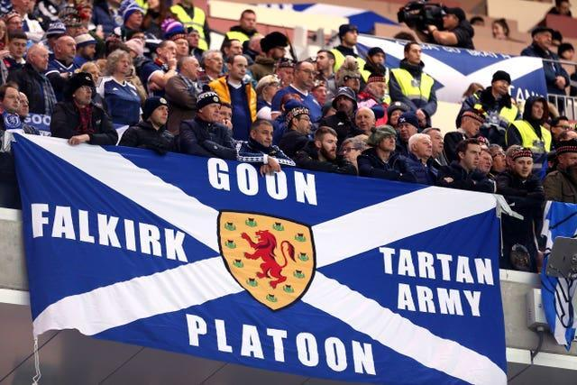 Scotland fans have waited 23 years to see their country at a major tournament