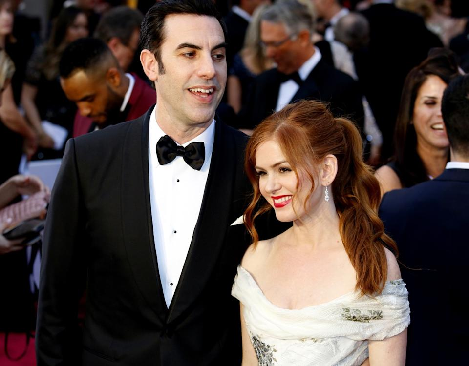 isla fisher and sacha baron kohen