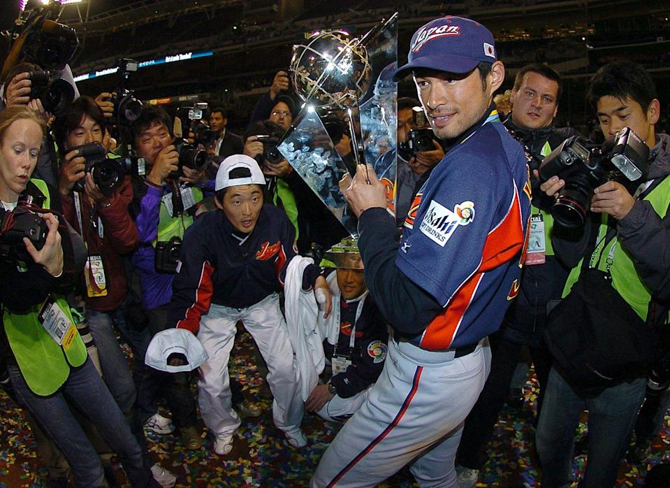 """<p><strong>March 20, 2006</strong>: Led by Ichiro Suzuki and Daisuke Matsuzaka, Japan defeated Cuba, 10-6, in PETCO Park in San Diego, to capture the championship of the inaugural World Baseball Classic. The Classic, sanctioned by Major League Baseball and international organizations, was the first truly global baseball tournament involving major-league players, featuring teams from Mexico, South Korea, the Dominican Republic, and other countries. Despite boasting such players as Derek Jeter and Ken Griffey Jr., the U.S. team finished eighth. """"In 2009, in the second Classic, Japan successfully defended its title, while the U.S. finished fourth,"""" says Wallace. """"It may be America's Pastime, but baseball is now clearly an international game.""""<br> </p>"""