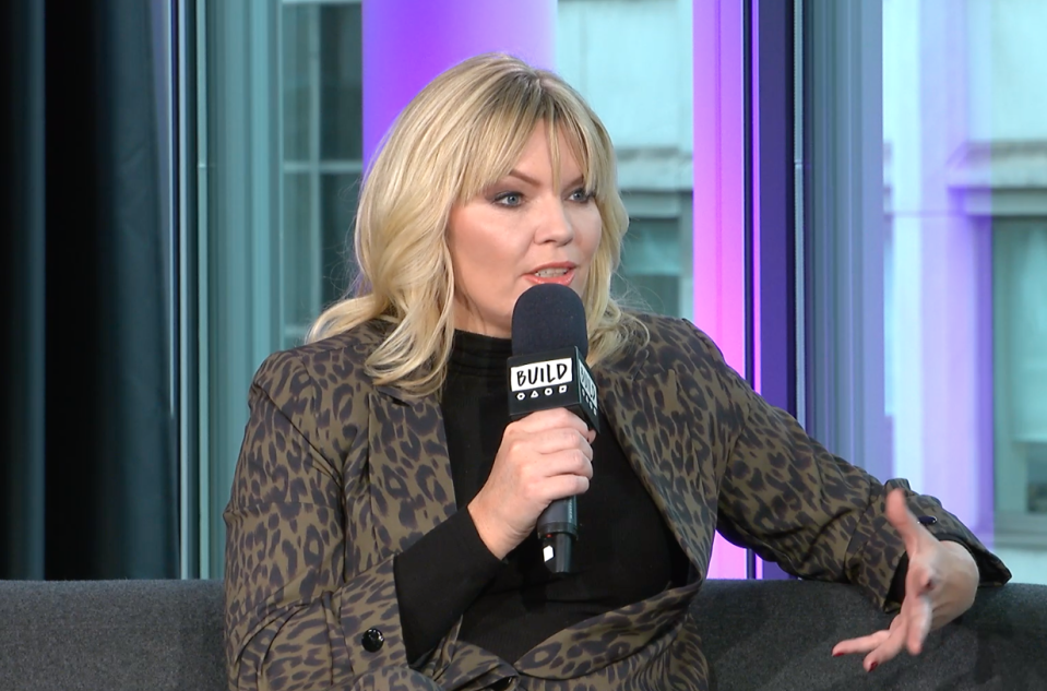 Kate Thornton tackled the X Factor cruelty during her Build appearance