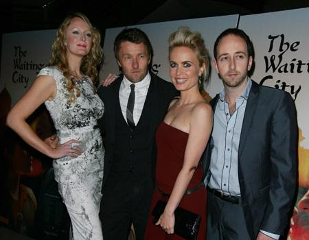 """<p>Claire McCarthy,Joel Edgerton,Radha Mitchell and Jamie Hilton arrive at the premiere of """"The Waiting City"""" at Dendy Opera Quays on July 5, 2010 in Sydney, Australia.</p>"""