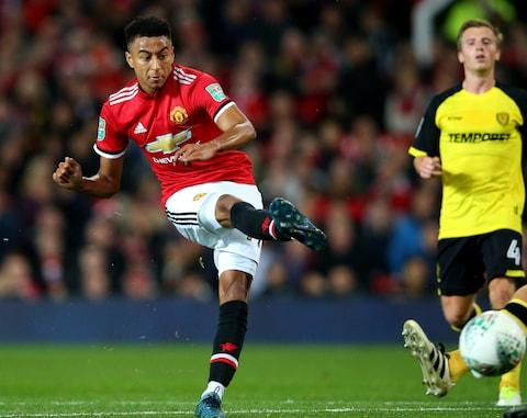 Lingard scores - Credit: Alex Livesey/Getty Images