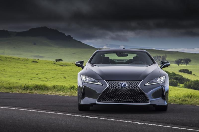 *AD* test drives the 2018 Lexus LC500 to see how it competes with some of the world's fastest cars