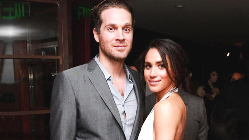 Meghan Markle with her ex boyfriend Cory