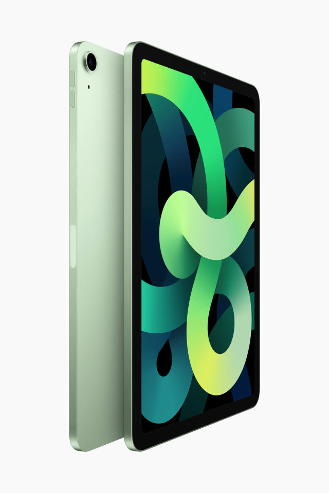 Features new all-screen design with larger 10.9-inch display, new 12MP rear camera, next-generation Touch ID sensor, and more