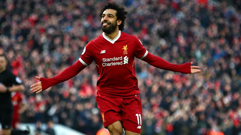 Liverpool 4 West Ham 1: Salah nets again as Reds climb to second
