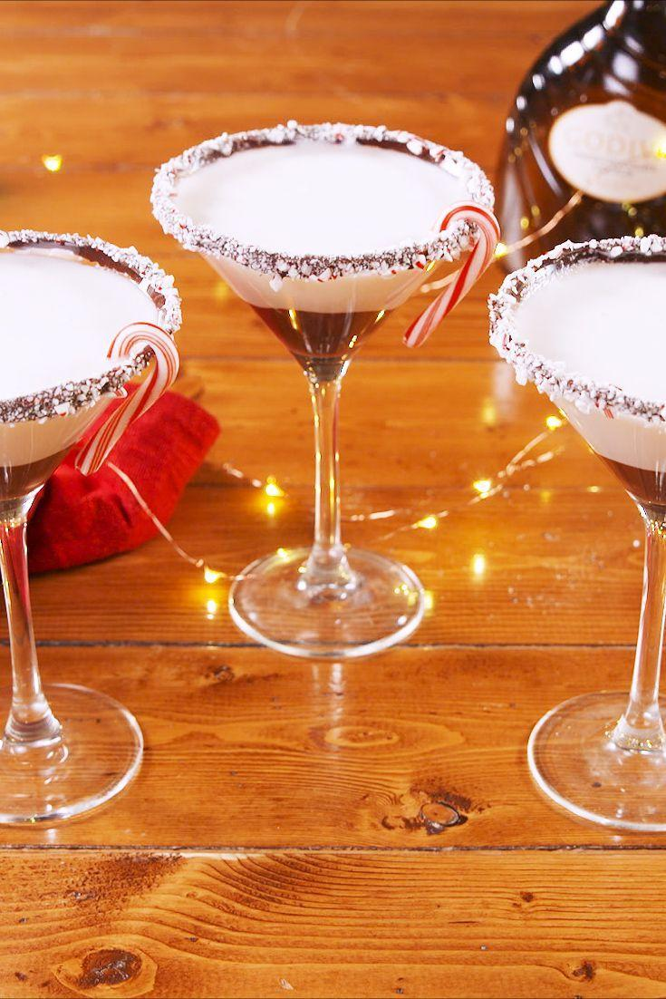 """<p>Skip the boring beer this year—holiday parties deserve fun, festive drinks, like Christmosas and Jingle Juice. Whether you want a champagne, vodka, rum, or tequila base, we've got a drink for you. For even more Christmas party cocktail ideas, try these <a href=""""https://www.delish.com/cooking/g1739/hot-cocktails/"""" rel=""""nofollow noopener"""" target=""""_blank"""" data-ylk=""""slk:hot cocktails"""" class=""""link rapid-noclick-resp"""">hot cocktails</a>, <a href=""""https://www.delish.com/holiday-recipes/g812/holiday-punch-recipes/"""" rel=""""nofollow noopener"""" target=""""_blank"""" data-ylk=""""slk:holiday punch recipes"""" class=""""link rapid-noclick-resp"""">holiday punch recipes</a>, and <a href=""""https://www.delish.com/cooking/recipe-ideas/g3004/pear-cocktails/"""" rel=""""nofollow noopener"""" target=""""_blank"""" data-ylk=""""slk:perfect pear cocktails"""" class=""""link rapid-noclick-resp"""">perfect pear cocktails</a>. And if you're serving cocktails, snacks will be required! Check out our best <a href=""""https://www.delish.com/holiday-recipes/thanksgiving/g3137/last-minute-thanksgiving-appetizers/"""" rel=""""nofollow noopener"""" target=""""_blank"""" data-ylk=""""slk:easy appetizers"""" class=""""link rapid-noclick-resp"""">easy appetizers</a>, and our favorite <a href=""""https://www.delish.com/cooking/recipe-ideas/g37271980/puff-pastry-appetizers/"""" rel=""""nofollow noopener"""" target=""""_blank"""" data-ylk=""""slk:puff pastry appetizers"""" class=""""link rapid-noclick-resp"""">puff pastry appetizers</a> if you're fancy.</p>"""