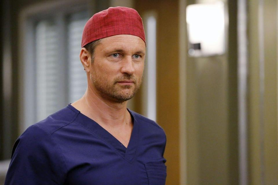 <p>After Patrick Dempsey's exit from the show, Martin Henderson joined the cast of <em>Grey's </em>as McDreamy heir apparent Nathan Riggs. </p>