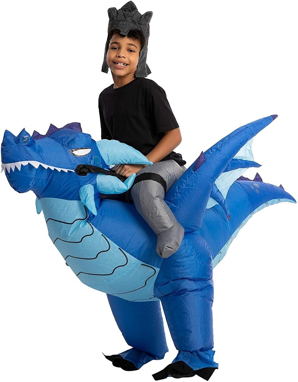 <p>We love the dose of mystical magic the <span>Spooktacular Creations Inflatable Halloween Ride an Ice Dragon Costume </span> ($30) has to offer.</p>