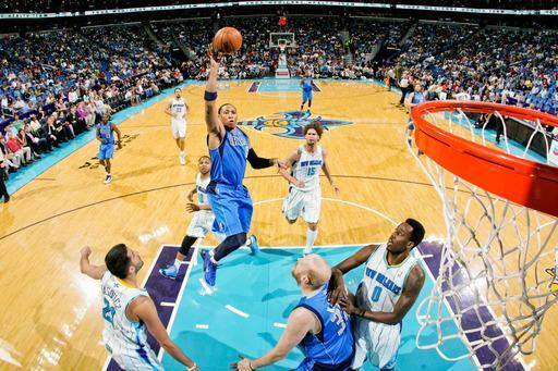 NEW ORLEANS, LA - APRIL 14: Shawn Marion #0 of the Dallas Mavericks shoots in the lane against the New Orleans Hornets on April 14, 2013 at the New Orleans Arena in New Orleans, Louisiana. (Photo by Layne Murdoch Jr./NBAE via Getty Images)