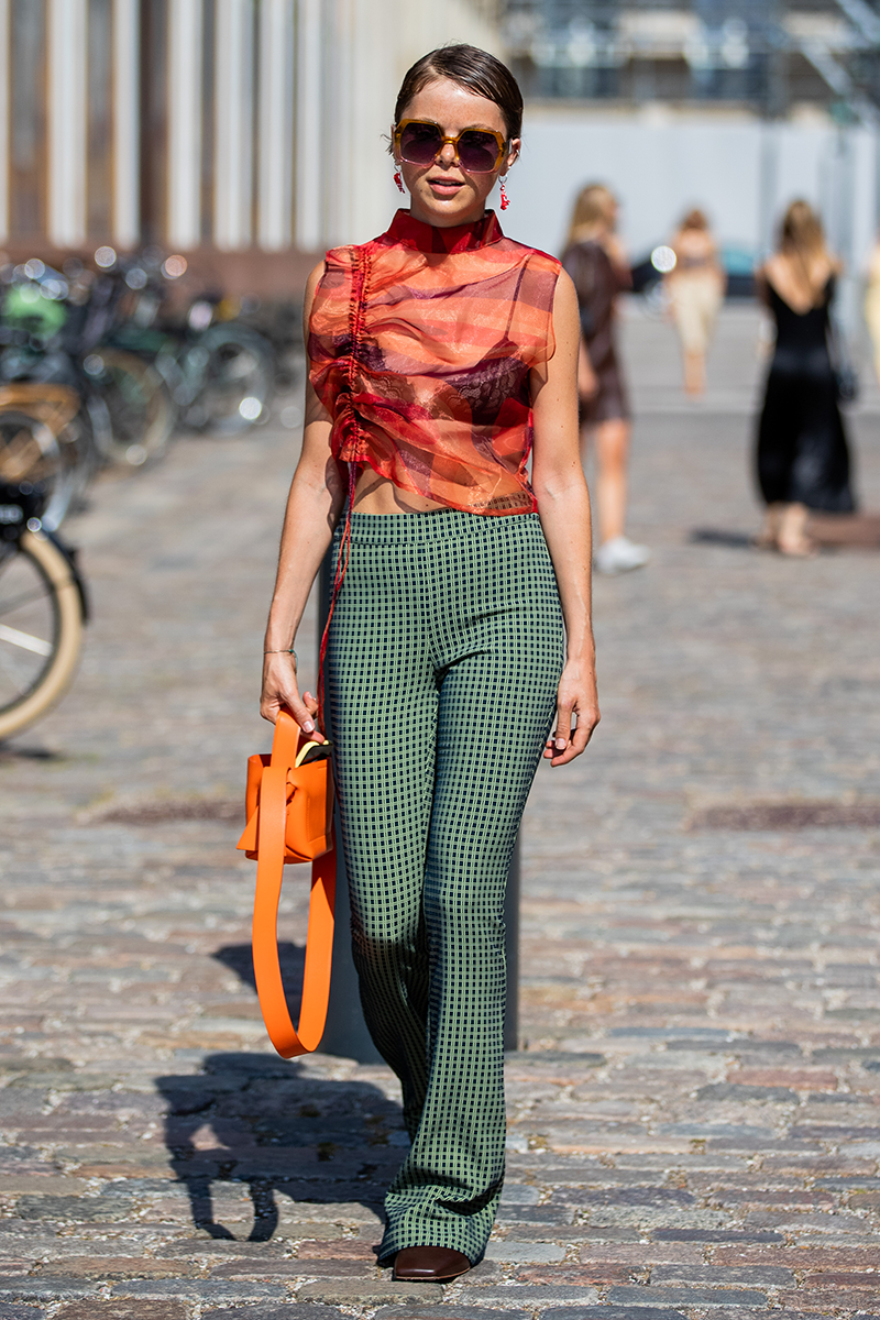<p>Add another dimension to your printed favourites by incorporating sheer details. Go all out by wearing a transparent top over a lacy bralette or keep things more low-key with see-through panelling.</p>