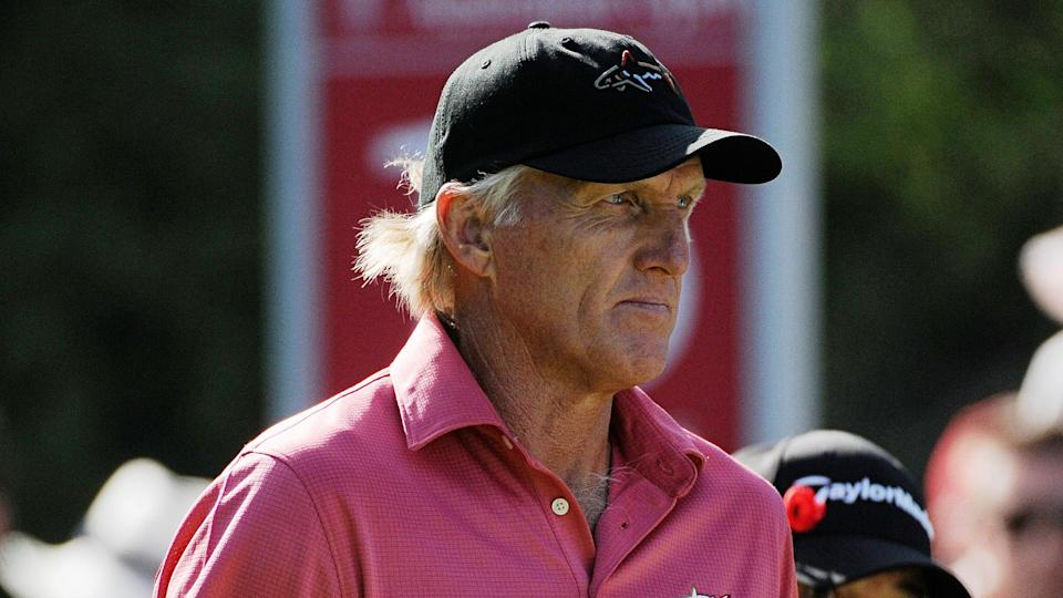 """<ul> <li><strong>Age:</strong> 66</li> <li><strong>Major wins:</strong> 2 (1986 British Open, 1993 British Open)</li> <li><strong>Total Pro Wins:</strong> 88</li> </ul> <p>The Australian golfer known as The Shark (or The Great White Shark) has an impressive playing resume, with 331 weeks as the No. 1-ranked golfer in the world, plus a lucrative course-design and apparel business. Norman might be better known for his runner-up finishes, including two heartbreaking losses at the Masters.</p> <p><a href=""""https://www.gobankingrates.com/net-worth/what-is-greg-norman-net-worth/?utm_campaign=1103113&utm_source=yahoo.com&utm_content=23&utm_medium=rss"""" rel=""""nofollow noopener"""" target=""""_blank"""" data-ylk=""""slk:See what his golf career has helped his net worth grow to."""" class=""""link rapid-noclick-resp"""">See what his golf career has helped his net worth grow to.</a></p> <p><em><strong>Find Out: </strong></em><em><strong><a href=""""https://www.gobankingrates.com/net-worth/sports/nfl-hall-famer-highest-net-worth/?utm_campaign=1103113&utm_source=yahoo.com&utm_content=24&utm_medium=rss"""" rel=""""nofollow noopener"""" target=""""_blank"""" data-ylk=""""slk:Which NFL Hall of Famer Has the Highest Net Worth?"""" class=""""link rapid-noclick-resp"""">Which NFL Hall of Famer Has the Highest Net Worth?</a></strong></em></p> <p><small>Image Credits: Tony Bowler / Shutterstock.com</small></p>"""